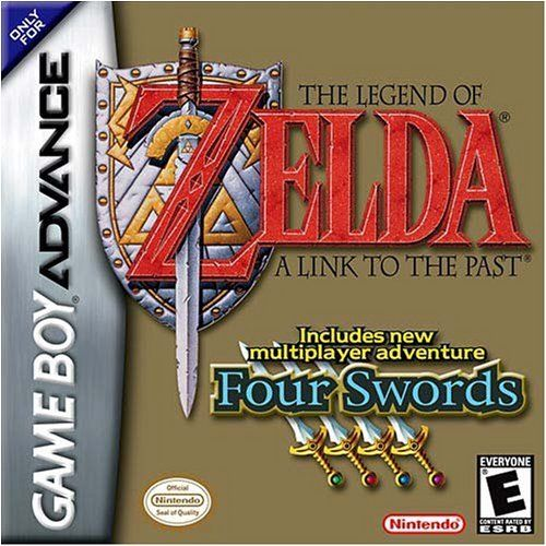 $105 - The Legend of Zelda: A Link to the Past (Includes Four Swords Adventure) - The best Zelda game and the best multiplayer GBA game. If it were playable online, it would be unstoppable!