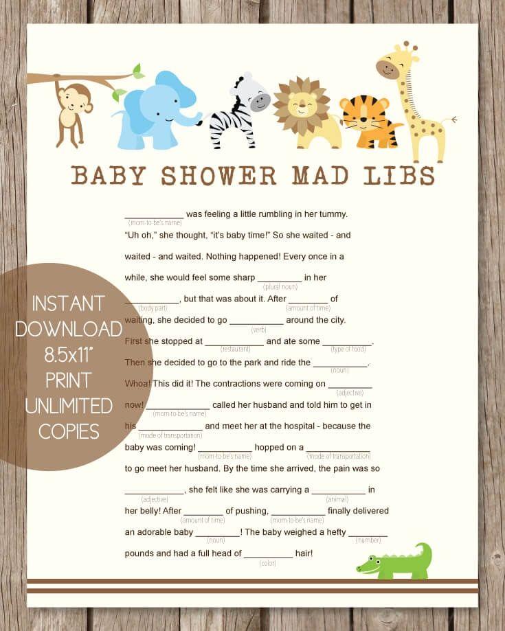 Virtual Baby Shower Favor Ideas