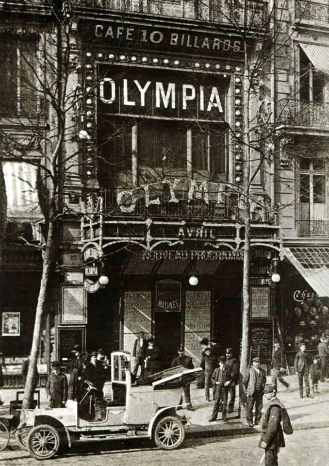 12 avril 1893, inauguration de l'Olympia. Boulevard des Capucines