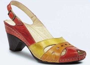 Sandaletten in 4 Farben - Sandaletten in 4 Farben - Sandaletten & Pantoletten - Komfortschuhe - Damenschuhe - Schuhe & Taschen | BADER