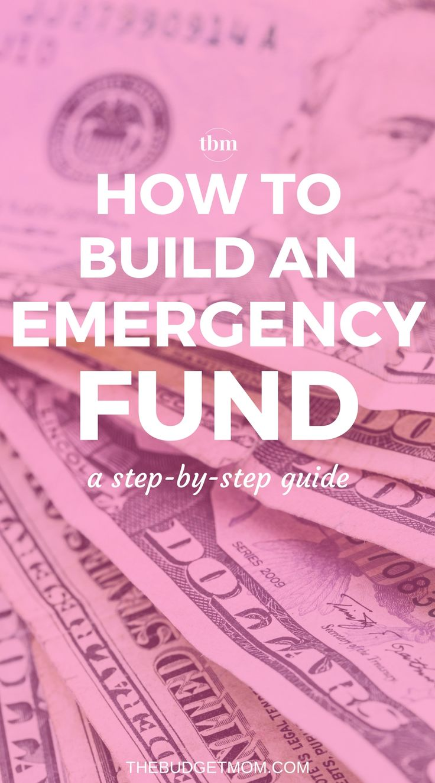 Save Money | Emergency Fund | Budget | Personal Finance via @thebudgetmom