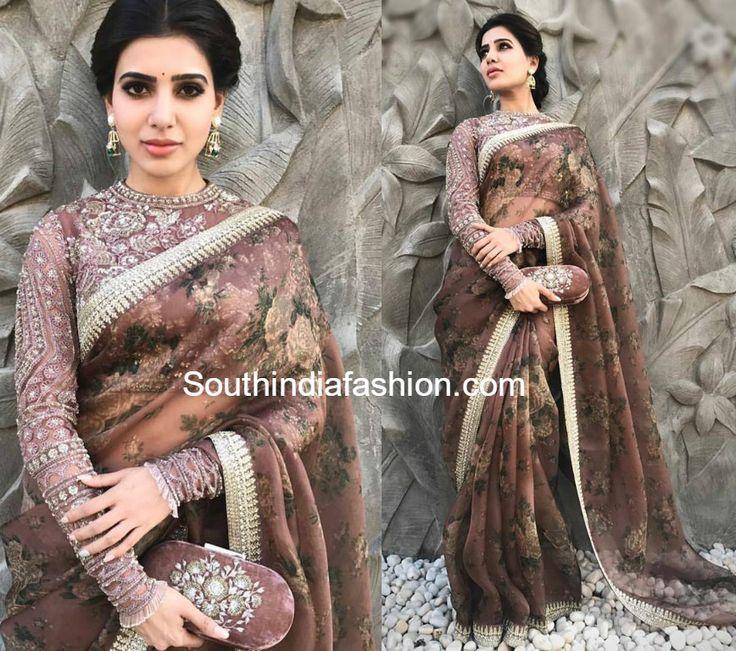15 awesome blouses of samantha16 photo