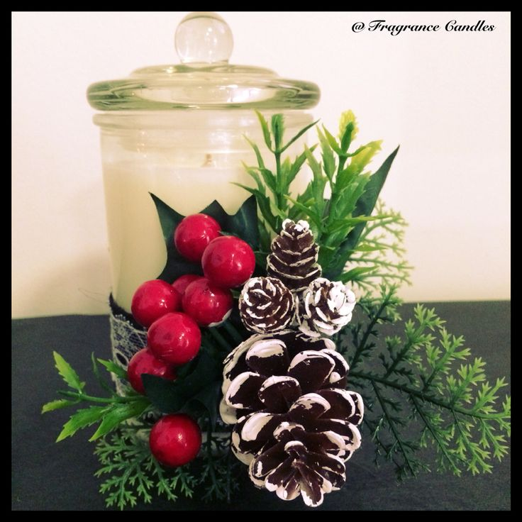 Xmas Candles handcrafted $40.00 check my facebook Page  https://www.facebook.com/pages/Fragrance-Candles/1483744341841178