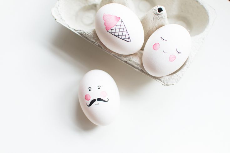5 Easy Ways to Decorate an Easter Egg - Petit & Small