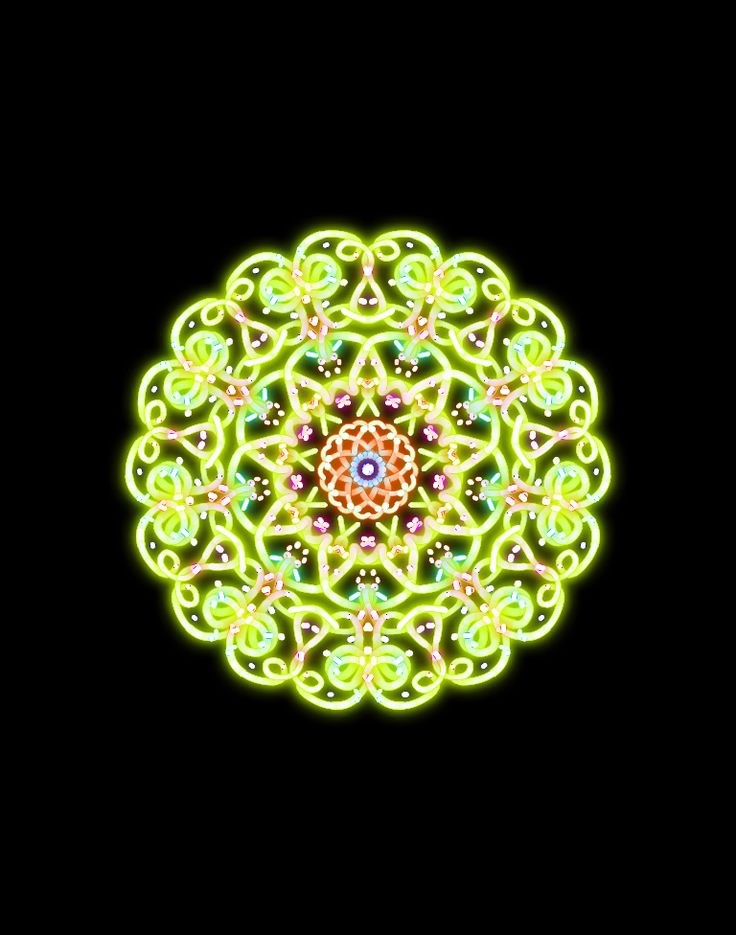 I made this painting with Kaleidoscope Drawing Pad on iPad :)