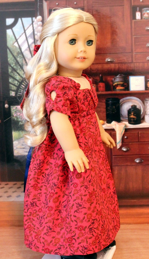 SALE PRICE  Apron Front Regency Dress by BabiesArtUs on Etsy, $48.00