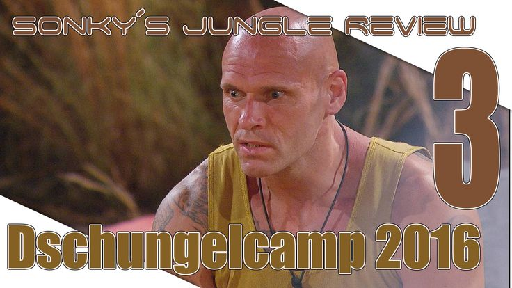 Dschungelcamp 2016 ▼ DAY 3 ▼ Sonky´s Jungle Review▼