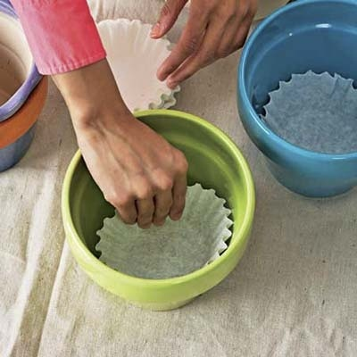Many ways to reuse coffee filters