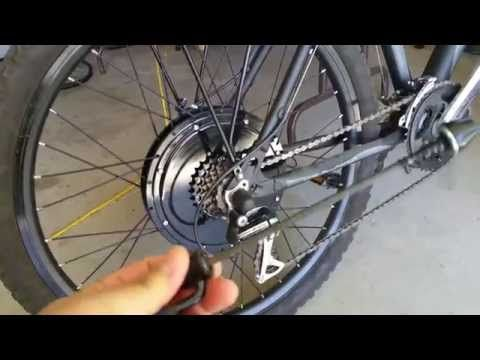 Fast and Cheap Electric Bike! Over 30 MPH! Part 1 - YouTube