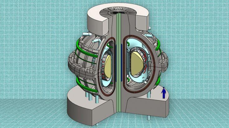 Este pequeno reator de fusão nuclear pode um dia energizar o mundo.