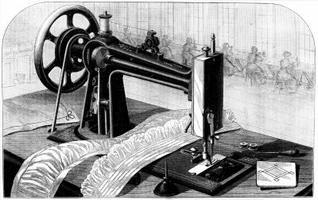 Como colocar uma correia em máquinas de costura de pedal