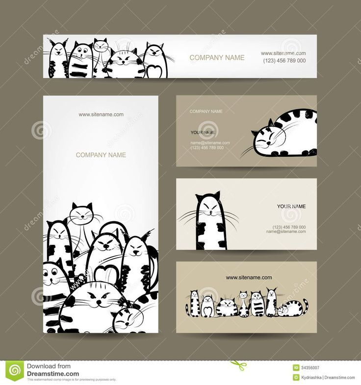 Corporate Business Cards Design With Funny Striped From Over 30 Million High Quality Stock