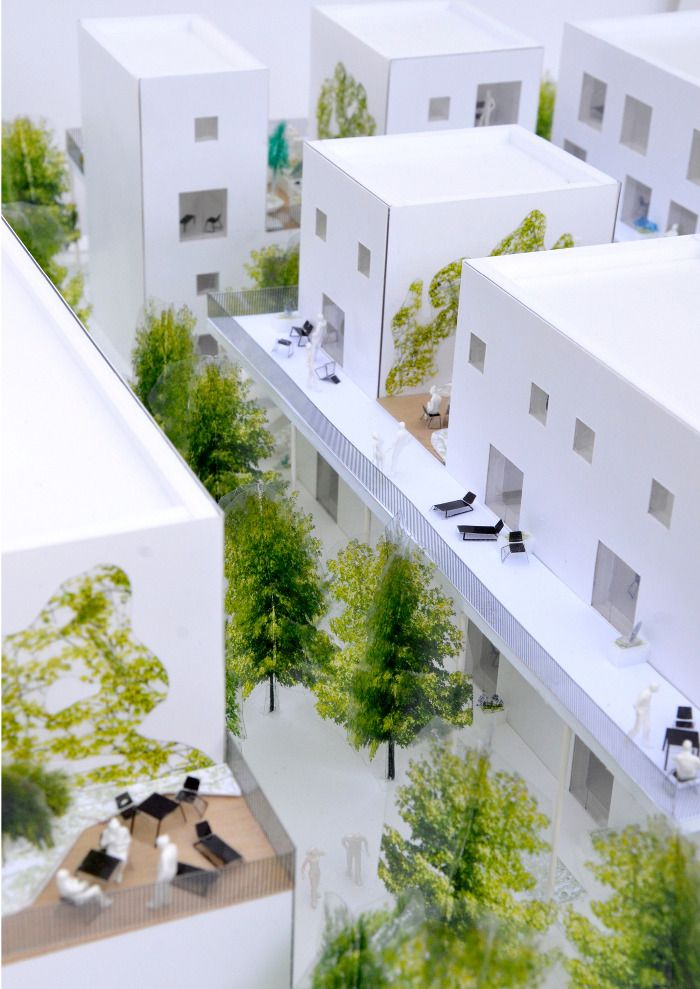 SKY-GARDEN HOUSES IN HERLEV, DENMARK - we architecture