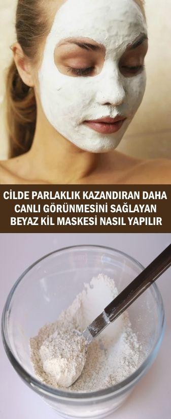 Beyaz Kil Maskesi Tarifi