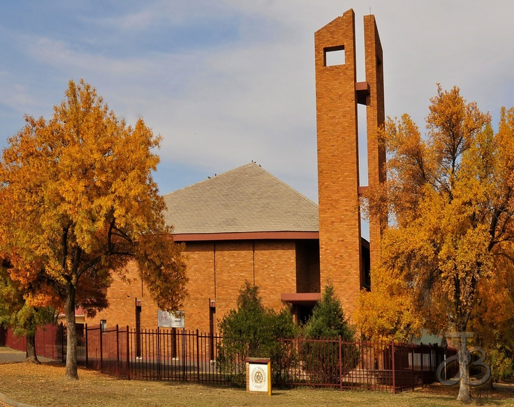 The Re-reformed church of Kroonstad, Free State, South Africa. By #PhotoJdB