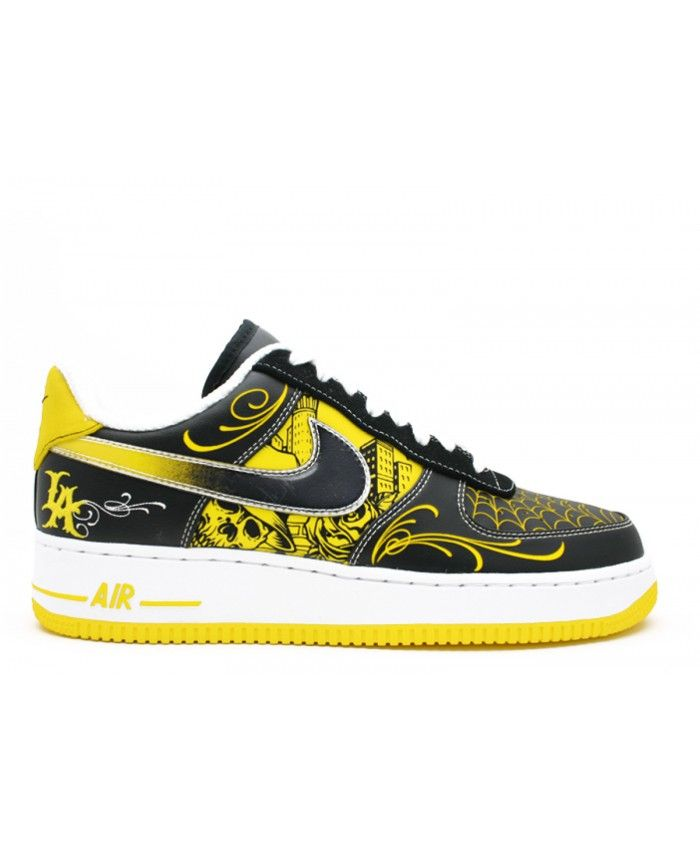 Air Force 1 Low Sup Tz Laf Livestrong Black, Varsity Maize White 378126-071