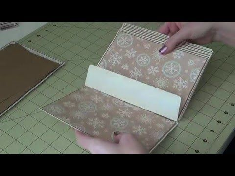 5x7 Envelope Mini Album - Part 3 - Assembly - YouTube