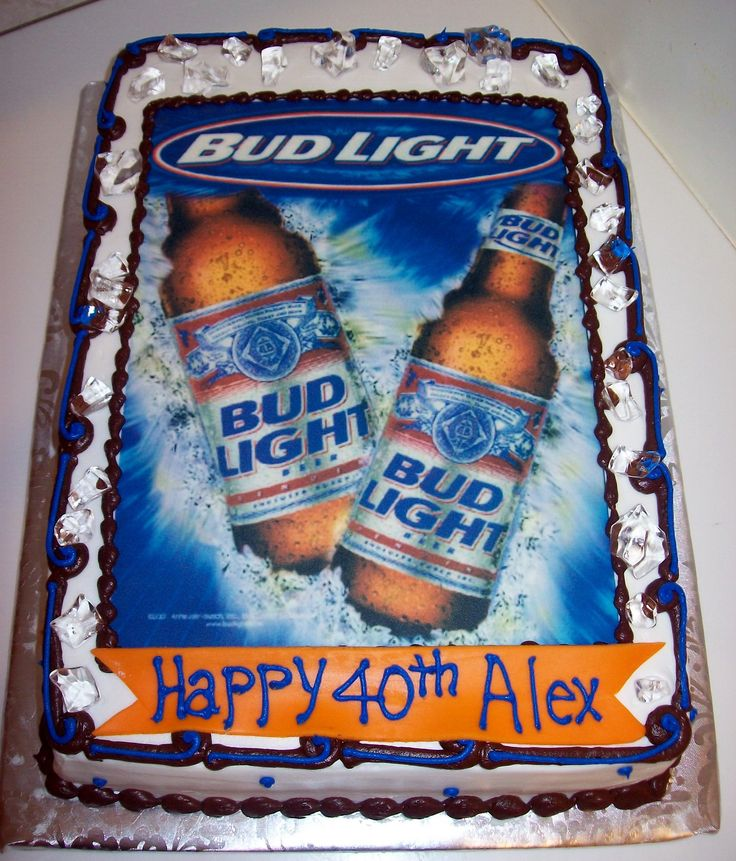 Images Of Budweiser Cakes