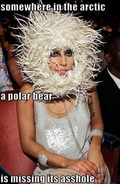 #TooFunnyForWords click on the pic for more! Funny Gaga outfit
