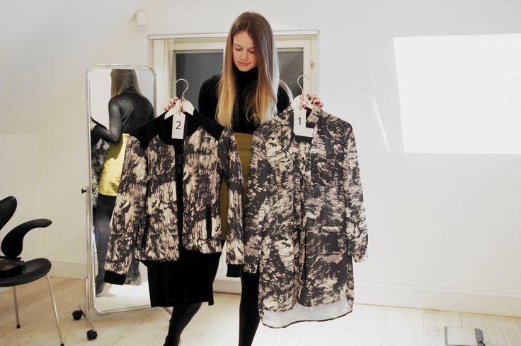 Søde Emma var fordi HQ i Kolding i sidste uge for at se den nye SS15 kollektion. http://emmoemmo.com/black-swan-kollektionsfremvisning/