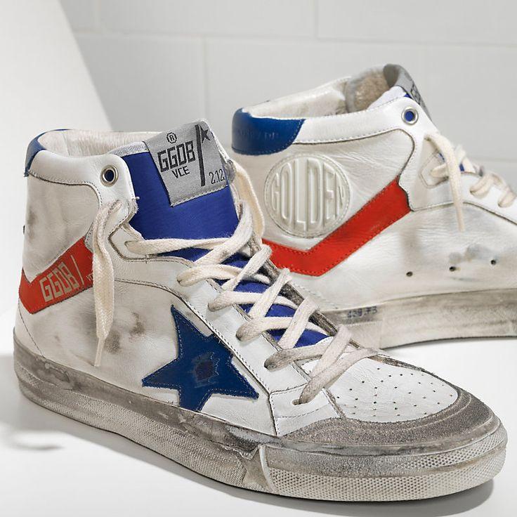 Sneakers 2.12 in Pelle con Stella in Pelle - GCOWS599.F3 - Golden Goose
