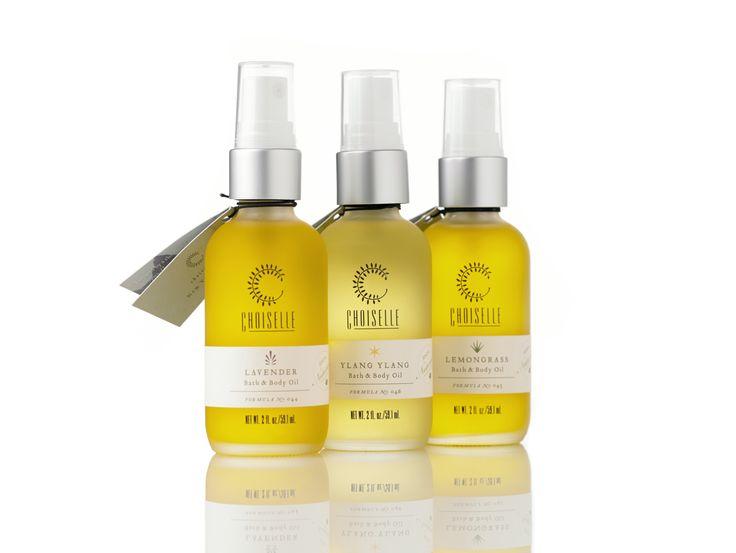 99.5% organic bath & body oils.