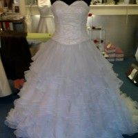 size 10 wedding dress ex display – town – West Yorkshire – Clothes, Shoes & Accessories | Online Car Boot Sale UK