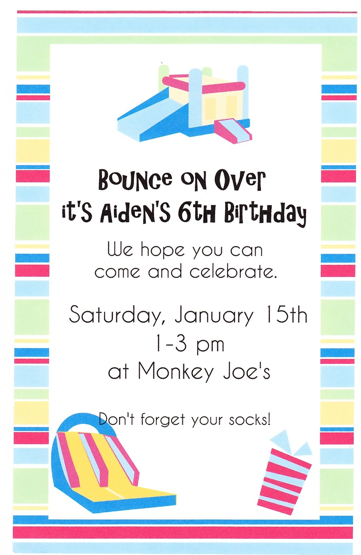 best images about for caleb carnival games bounce house birthday invite