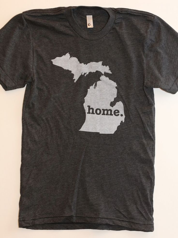 This t-shirt is an amazing way to flaunt your state pride, but the best part is a portion of profits are donated to multiple sclerosis (MS) research.  Plus, it is 100% made in the good ol' USA (and super vintage soft!).  Find your state  The Home. T - Michigan Home T, $25.00 (http://www.thehomet.com/michigan-home-t-shirt)