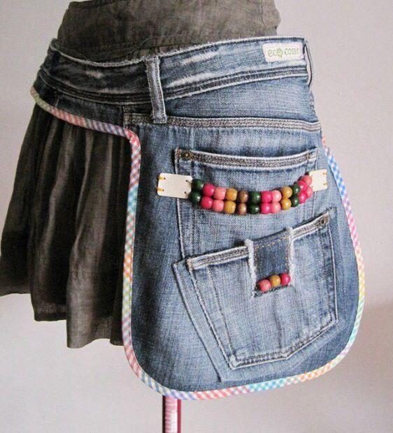 Denim Side Pouch or Pocket - Big DIY IDeas