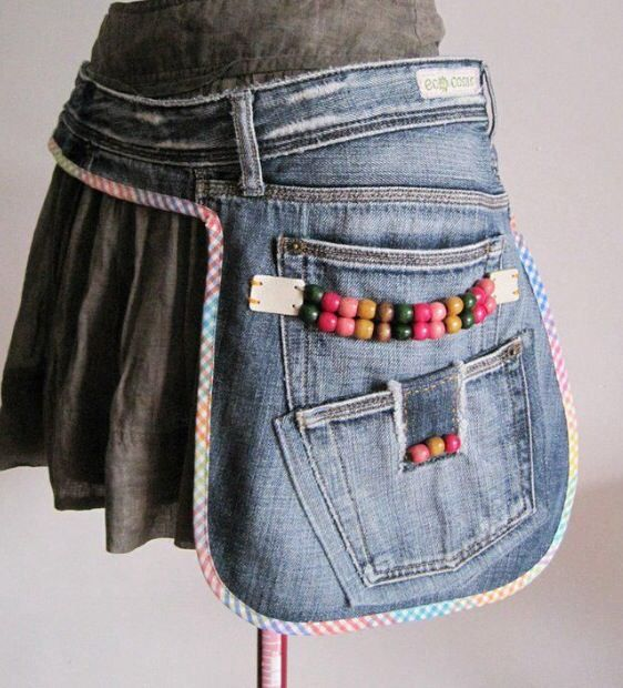 Denim Side Pouch or Pocket - Big DIY IDeas