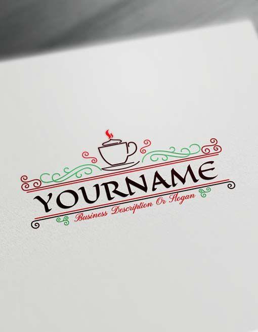 Make Coffee Logo Online