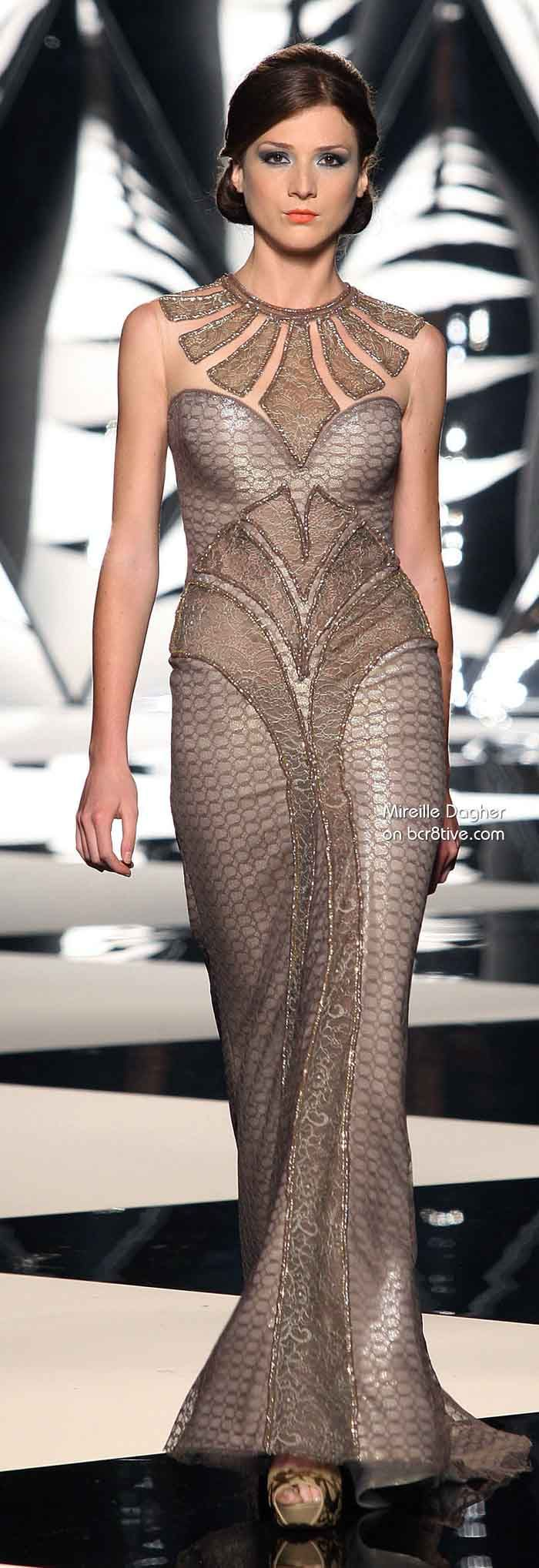 Mireille Dagher Fall Winter 2013-14 Haute Coutur