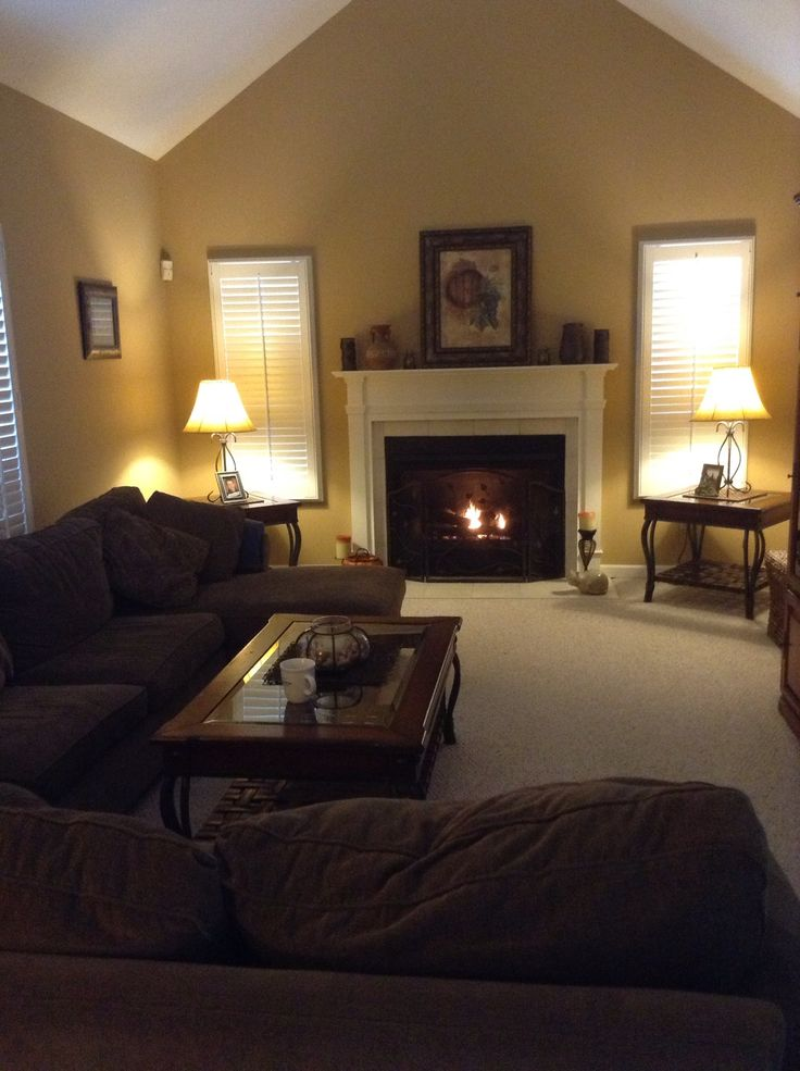 My cozy family room  My Spaces  Family room decorating Cozy family rooms Home decor styles