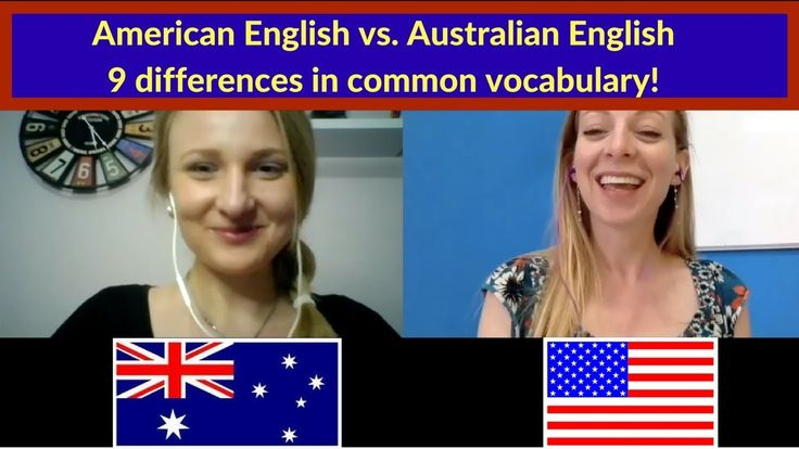 American English vs. Australian English - 9 differences in common vocabu...