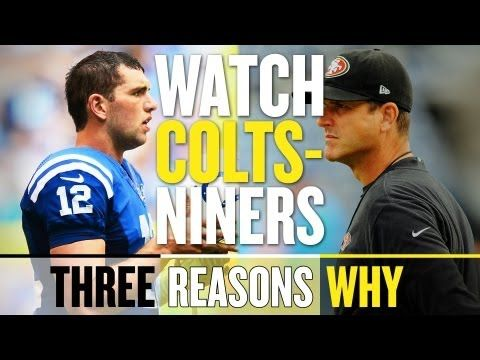NFL Week 3 Schedule: Colts vs 49ers Tops Slate of Games (Three Reasons Why)