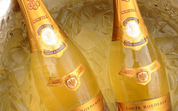 #wine #champagne #crystal #luxury #gold
