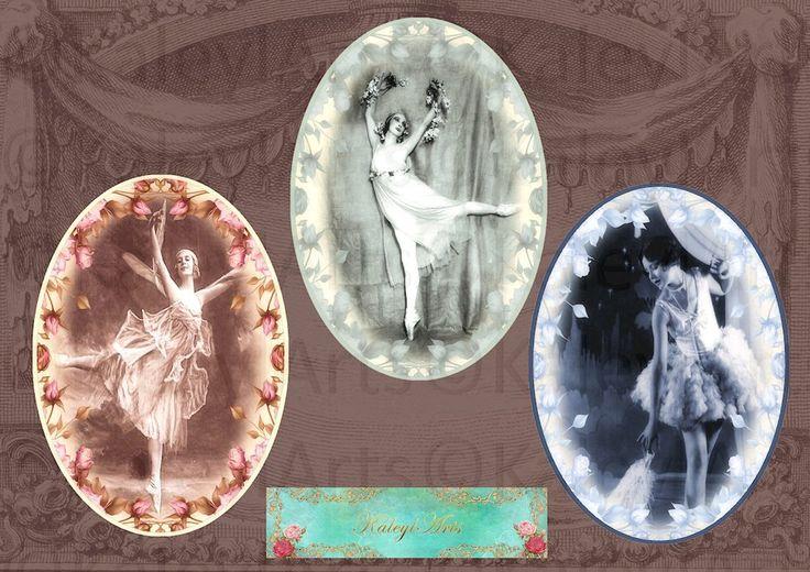 dance..druckbare Download Digital Collage Sheet für Ohrringe, Charms, Armband, Einstellungen, Einfassungen, Magnete,scrapbook, paper craft von KaleylArts auf Etsy