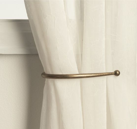 curtain holdbacks magnetic curtain rodschurch