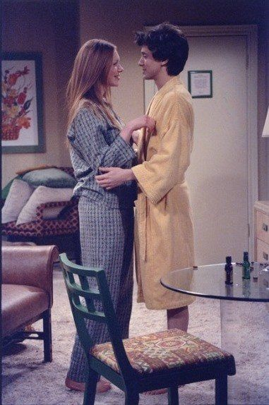 When Eric (Topher Grace, R) and Donna (Laura Prepon, L) decide to go away and spend a nice weekend together alone, they are in for a real surprise on THAT 70s SHOW Romantic Weekend