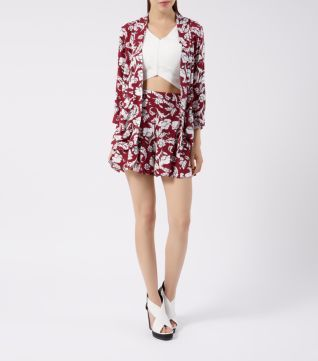 Funky printed kimono and shorts from New Look!