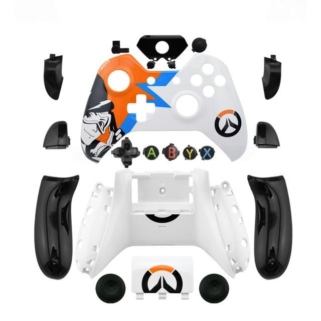 Overwatch and Forza Xbox One Controller Shell Kit (without 3.5mm jack)