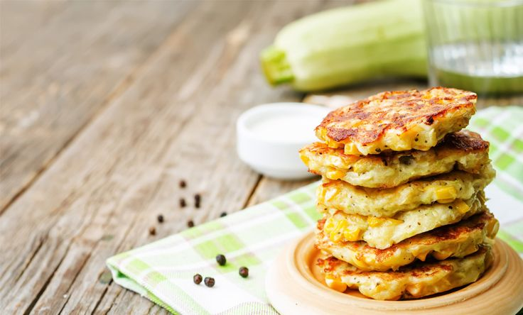 Sweet Corn & Zucchini Fritters