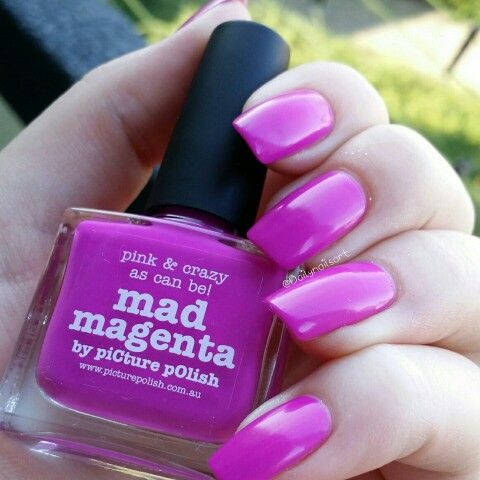 Mad Magenta from Picture Polish