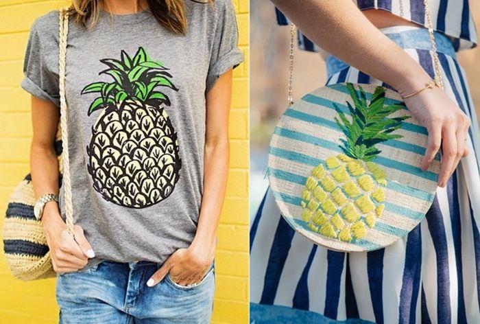 Pineapple | Estampas de abacaxi é tendência nesse verão