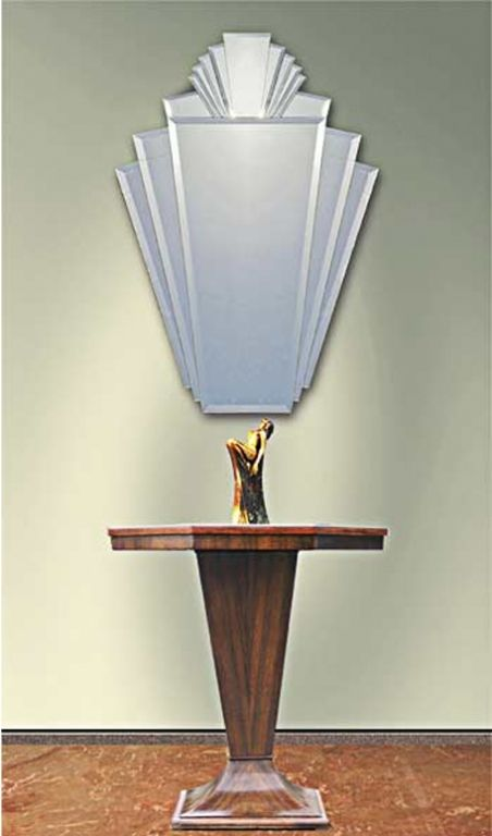 Art deco mirror art deco decor designer furniture for Miroir art deco
