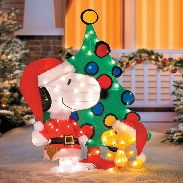 36 best Fun things images on Pinterest Peanuts christmas, Snoopy - peanuts outdoor christmas decorations