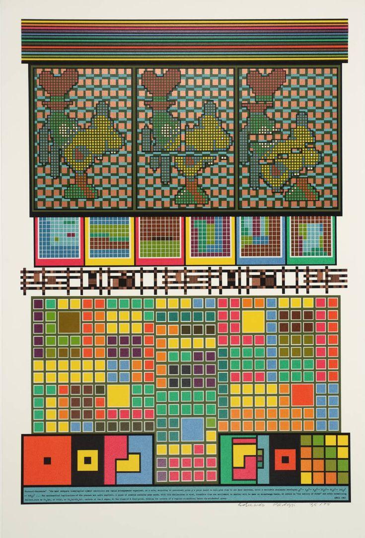 Sir Eduardo Paolozzi 'Protocol Sentences', 1967 © The Eduardo Paolozzi Foundation