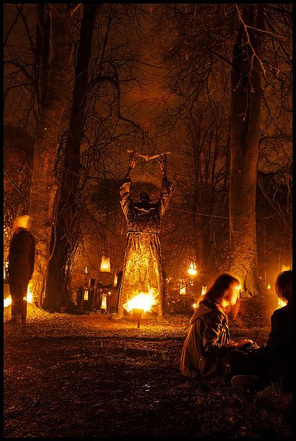 St. Columba in St. Columb's Park integrated with Carabosse's Fire Garden  Photograph By Kayleigh Clarke Photography