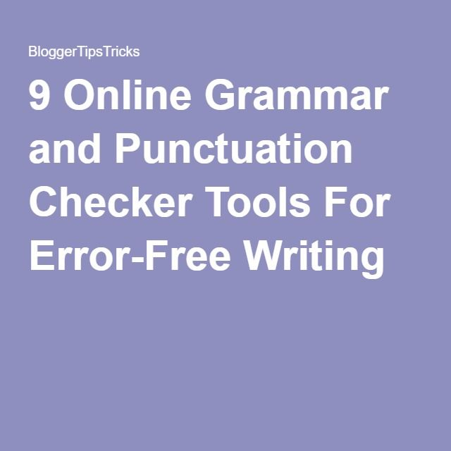 best online grammar checker ideas grammar 9 online grammar and punctuation checker tools for error writing